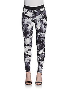 Saks Fifth Avenue RED Galaxy-Print Leggings