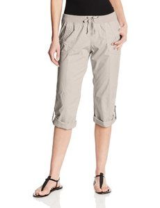 Marc New York Andrew Marc Per Women's Rib Waist Roll Hem Cargo Pant