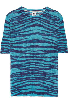 M Missoni Slub-knitted top