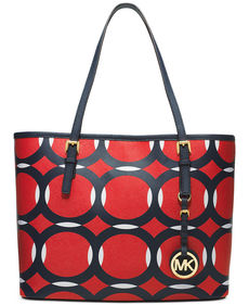 MICHAEL Michael Kors Jet Set Deco Small Travel Tote
