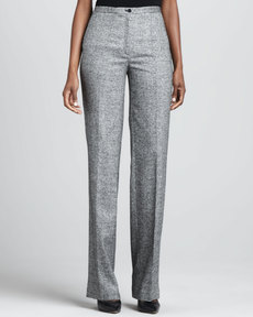 Michael Kors Samantha Donegal Tweed Pants