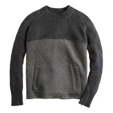 Collection double-faced cashmere pullover