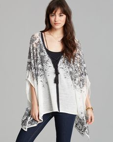Free People Cardigan Cape - Seven Dials