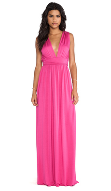 Rachel Pally Giulietta Dress in Fuchsia