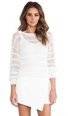 Trina Turk Auburn Sweater in White