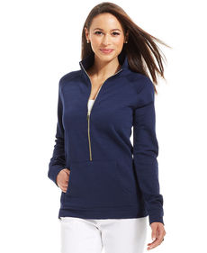 Charter Club Half-Zip Sweater