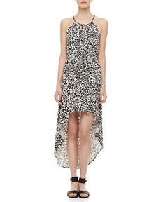 Cheetah-Print Hi-Lo Dress   Cheetah-Print Hi-Lo Dress