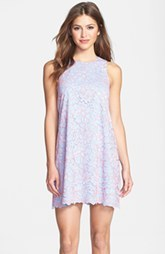 Cynthia Steffe Corded Lace Shift Dress