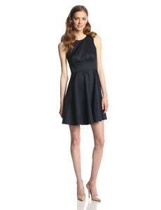 French Connection Women's Superchick Solid Dress