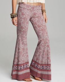 Free People Pants - Mermaid Flare