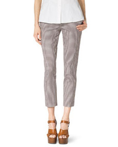 Check Stretch-Cotton Skinny Pants   Check Stretch-Cotton Skinny Pants