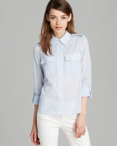 Theory Top - Zega Cotton Lawn