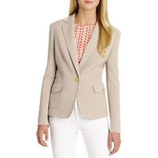 Long Sleeve Jacket with Belt & Pocket Detail