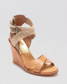 Dolce Vita Open Toe Wedge Sandals - Jarona
