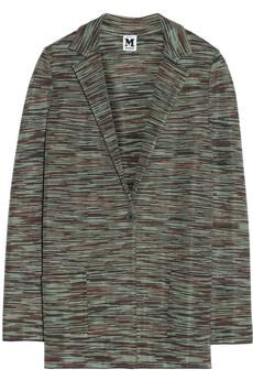 M Missoni Cotton-blend jacket