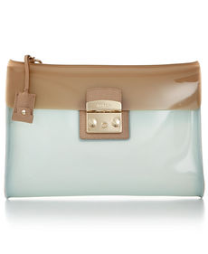 Furla Candy Vanilla Medium Pochette Bag