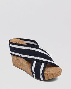 Lucky Brand Platform Wedge Slide Sandals - Miller2