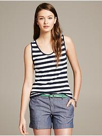 Striped Criss-Cross Tank