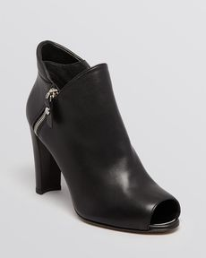 Stuart Weitzman Open Toe Booties - Jump High Heel