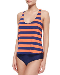 Marcel Double Dip V-Neck Tankini Swim Top   Marcel Double Dip V-Neck Tankini Swim Top