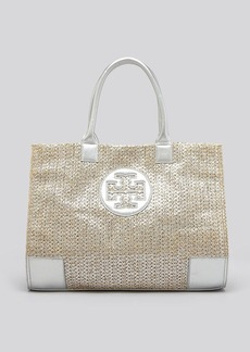Tory Burch Tote - Metallic Straw Ella