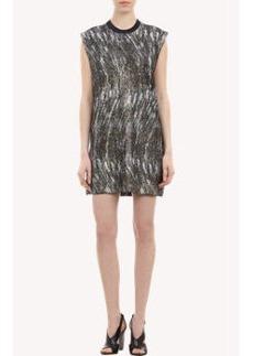 Kenzo Metallic Jacquard Dress