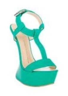 Giuseppe Zanotti Curved Wedge T-Strap Sandals