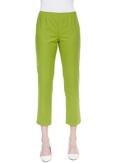 Lafayette 148 New York Bleecker Cropped Pants, Bamboo