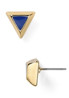 ABS by Allen Schwartz Copacabana Triangle Stud Earrings