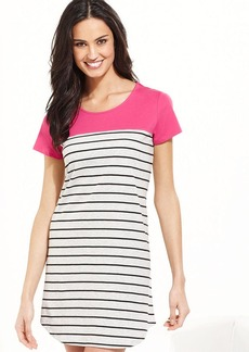 Charter Club Striped Sleepshirt