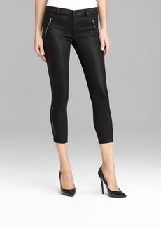 J Brand Jeans - 1446 Carey Skinny in Lacquered Black Quartz