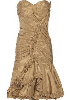 Oscar de la Renta Silk-taffeta dress