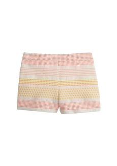 Collection neon dot jacquard short