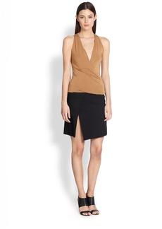 Donna Karan Scissor Wrap Skirt