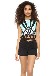 Mara Hoffman Geo Crop Top