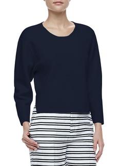 J Brand Ready to Wear Jill Dropped-Sleeve Sweater