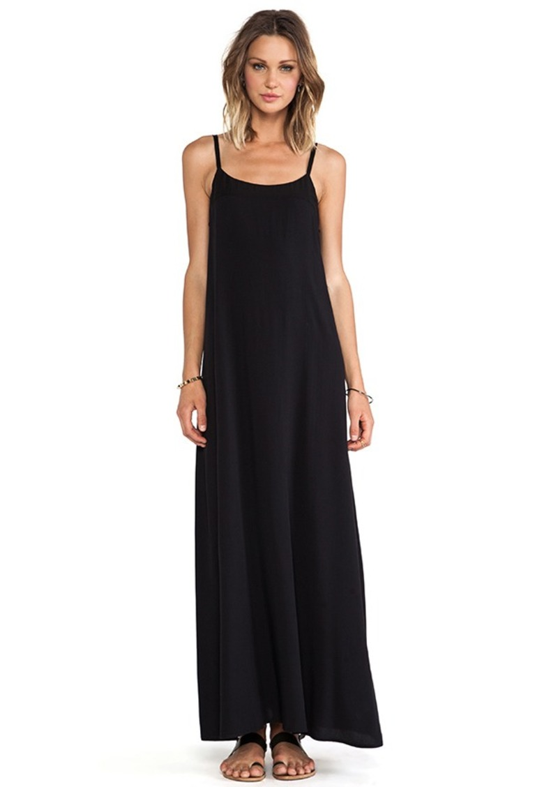 AG Adriano Goldschmied Interval Maxi Dress in Black