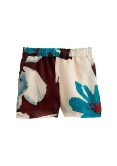 Collection overblown floral short