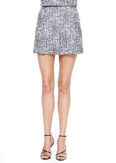 Joie Tabby Printed Sateen Skirt
