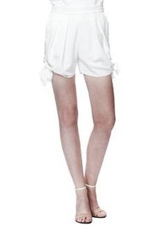Chloe Light Cady Tie Shorts