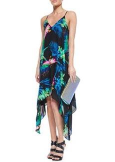 Paradise Print Strappy Dress   Paradise Print Strappy Dress