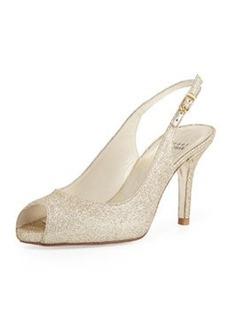 Litely Glitter Slingback Sandal, Gold   Litely Glitter Slingback Sandal, Gold