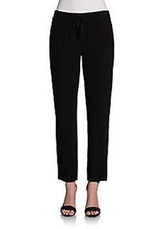 DKNY Crepe Drawstring Pants