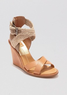 Dolce Vita Open Toe Wedge Sandals - Jarona