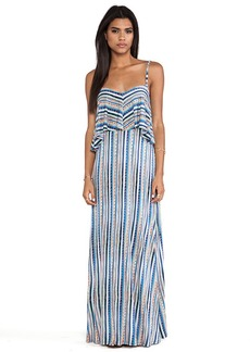 Ella Moss Bondi Maxi Dress in Blue