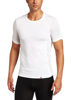 New Balance Men's Compression Crew Neck Short Sleeve Undershirt