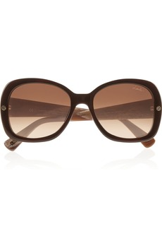 Lanvin Square-frame printed sunglasses