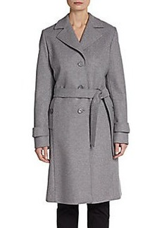 Cinzia Rocca DUE Classic Belted Coat