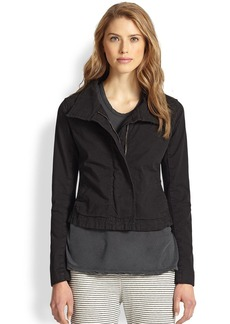 James Perse Stretch Cotton Jacket