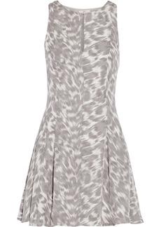 Joie Tavie printed silk mini dress